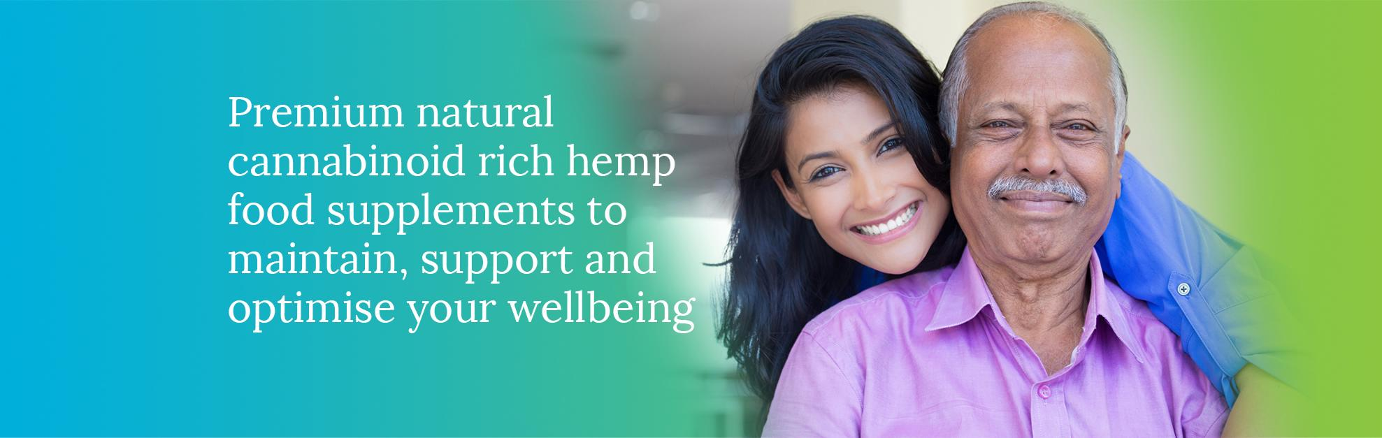 Premium Hemp Food Supplements